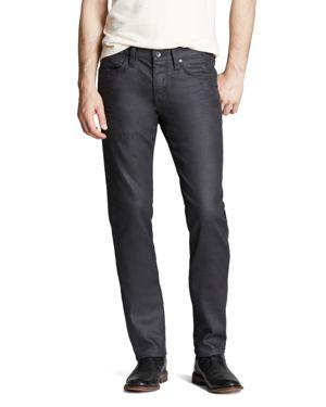 John Varvatos Usa Jeans - Bowery Slim Straight Fit in Graphite