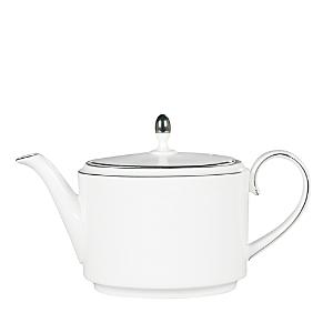 Vera Wang Wedgwood Blanc Sur Blanc Teapot