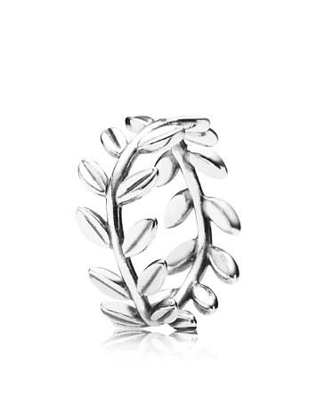 $PANDORA Ring - Sterling Silver Laurel Wreath - Bloomingdale's