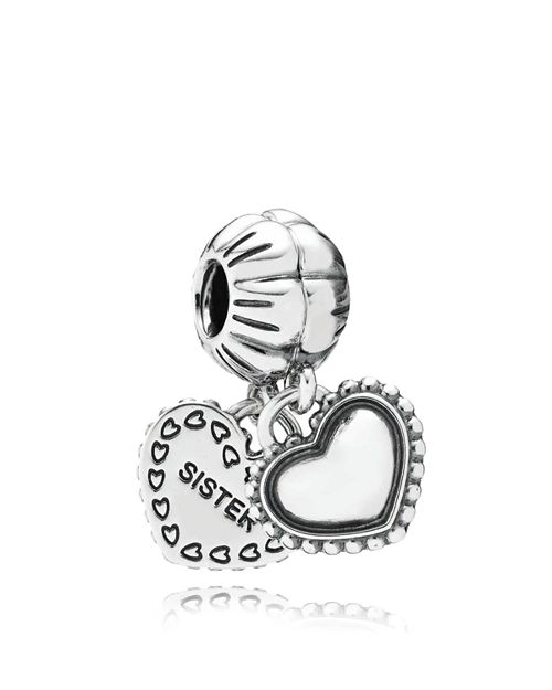 PANDORA - Sterling Silver My Special Sister Dangle Charm