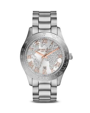 $Michael Kors Layton Watch, 43.5mm - Bloomingdale's