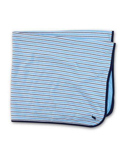 Ralph Lauren - Infant Boys' Striped Blanket