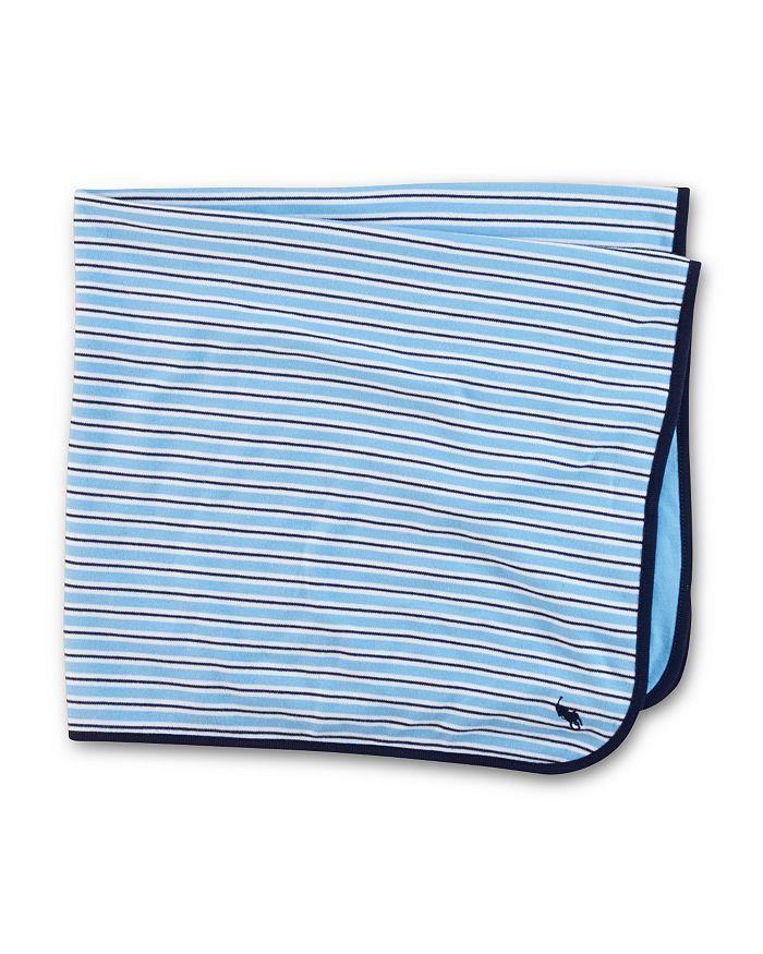 Ralph Lauren - Infant Boys' Striped Blanket - Baby
