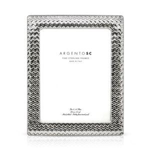 Argento Sc 8 x 10 Chevron Frame