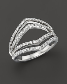 Diamond Geometric Ring in 14K White Gold, .75 ct. t.w. - 100% Exclusive - Bloomingdale's_0