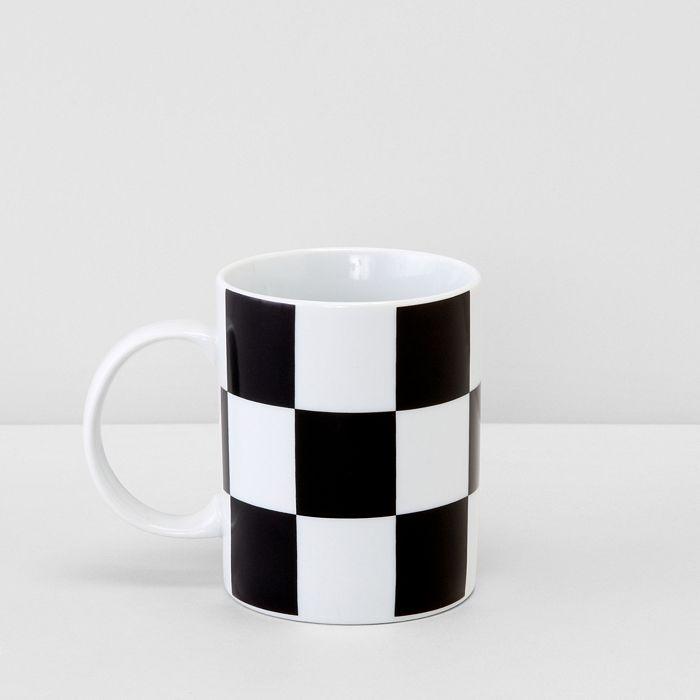 Bloomingdale's - Checkered Floor Mug - 100% Exclusive