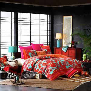 Josie Decoiserie Mini Comforter Set, Full/Queen