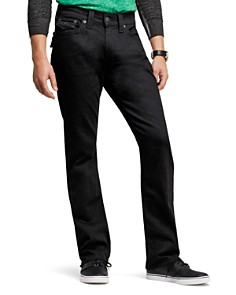 True Religion - Ricky Relaxed Fit Jeans in Black Midnight