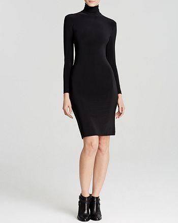 KAMALIKULTURE - Long Sleeve Turtleneck Dress