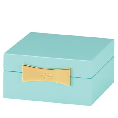 kate spade new york Garden Drive Square Jewelry Box Bloomingdales