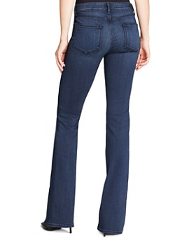 PAIGE - Transcend Skyline Bootcut Jeans in Valor