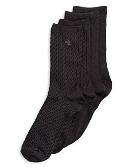 Ralph Lauren - Cable Trouser Super Soft Socks, Set of 2