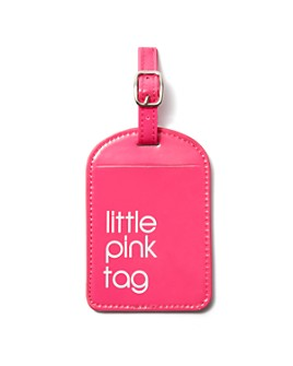 Bloomingdale's - Fashion Little Pink Luggage Tag - 100% Exclusive