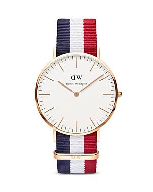 daniel wellington daniel wellington classic cambridge watch 40mm