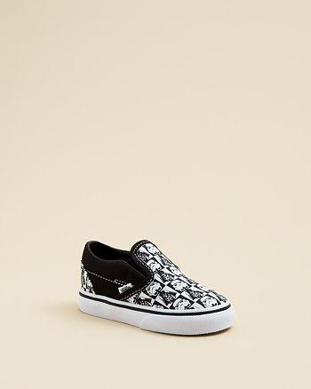 521be9342b Vans Boys  Star Wars Checkerboard Classic Slip-On Sneakers - Walker ...