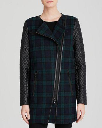 Walter - Sadie Plaid Coat