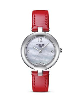 Tissot - Pinky Ladies Watch with Red Strap, 28mm