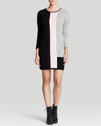 Magaschoni - Cashmere Color Block Dress