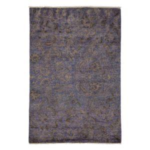 Suzani Collection Oriental Rug, 4'3 x 6'1