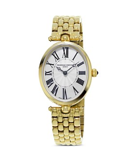 Frederique Constant - Classics Art Deco Yellow Gold Watch, 30mm