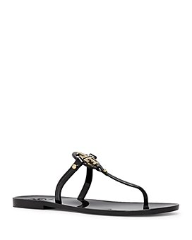 Tory Burch - Women's Mini Miller Jelly Flat Thong Sandals
