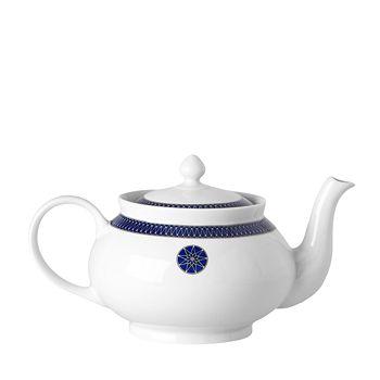 Royal Limoges - Blue Star Teapot