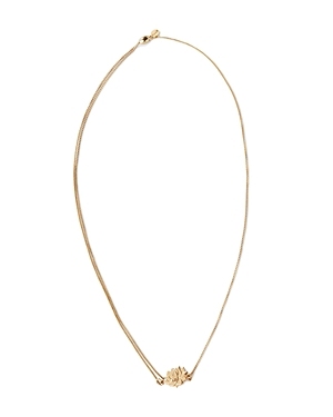 Alex and Ani Precious Metals Symbolic Lotus Peace Petals Pull Chain Necklace, 10-24