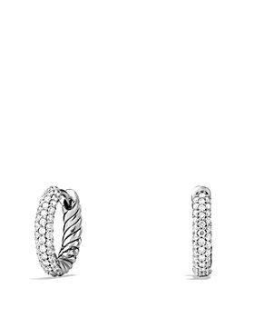 David Yurman - Petite Pavé Earrings with Diamonds