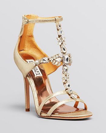 Badgley Mischka - Open Toe Evening Sandals - Giovana II High-Heel