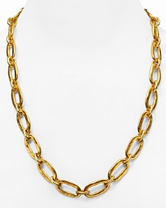 Uno de 50 - Chain Link Necklace, 24""
