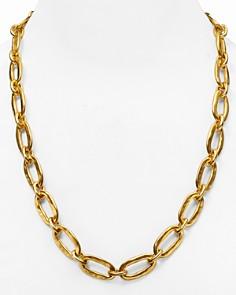 """Uno de 50 - Chain Link Necklace, 24"""""""