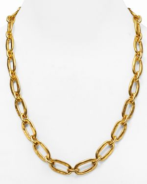 Uno de 50 Chain Link Necklace, 24