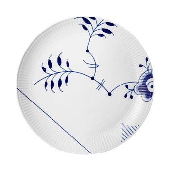 Royal Copenhagen - Blue Fluted Mega Coupe Lunch Plate