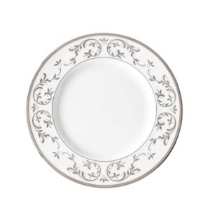 Lenox Opal Innocence Silver Accent Plate