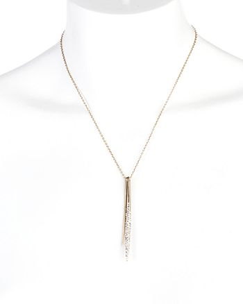 Alexis Bittar - Spear Pendant Necklace, 16""