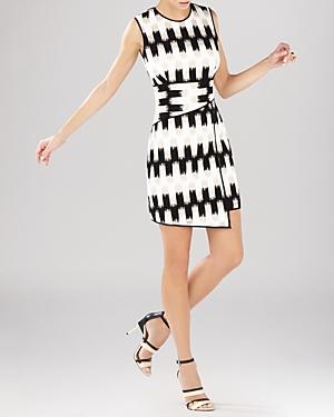 Bcbgmaxazria Dress - Alivia Wrap Waist Asymmetric