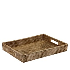 The French Chefs Maria Rattan Rectangular Tray - Bloomingdale's Registry_0