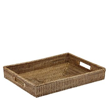 The French Chefs - Maria Rattan Rectangular Tray