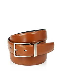 The Men's Store at Bloomingdale's - Men's Amigo Reversible Leather Belt - 100% Exclusive