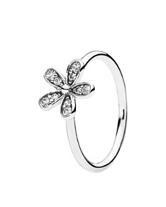 PANDORA Ring - Sterling Silver & Cubic Zirconia Dazzling Daisy - Bloomingdale's_0