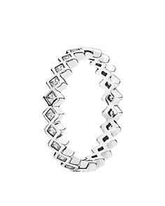 PANDORA Ring - Sterling Silver & Cubic Zirconia Alluring Princess - Bloomingdale's_0