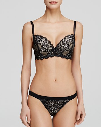 Le Mystère Sophia Lace Underwire Bra & Bikini