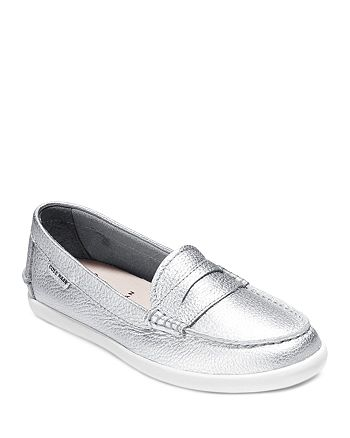 1067a21a41a9a Cole Haan Loafer Flats - Pinch Weekender Metallic | Bloomingdale's