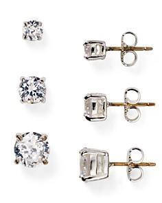 Carolee - Cubic Zirconia Stud Earrings