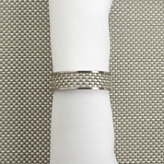 Chilewich Mini Basketweave Napkin Ring - Bloomingdale's_0