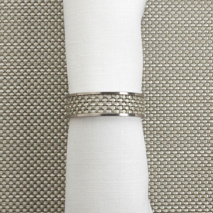 Chilewich - Mini Basketweave Napkin Ring