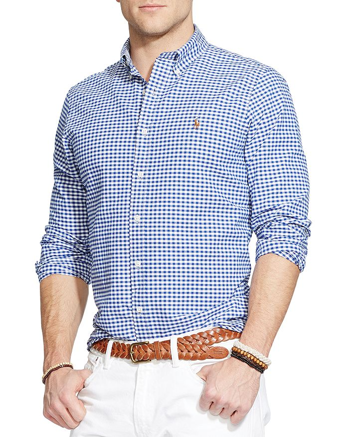 db7f1e9dcc Polo Ralph Lauren Checked Oxford Button-Down Shirt - Classic Fit ...