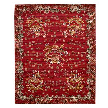 """Nourison - Dynasty Collection Area Rug, 9'9"""" x 13'"""