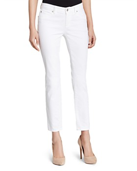 Eileen Fisher - System Skinny Ankle Jeans in White, Regular & Petite