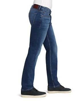 PAIGE - Transcend Normandie Straight Fit Jeans in Birch Medium